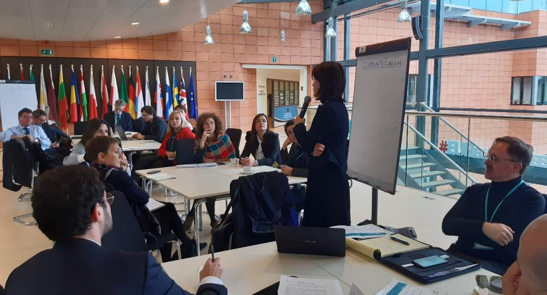 C-Track 50 promoting multi-level stakeholder involvement for a successful energy transition in cities and regions during the EU Regions Week 2019